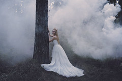 A very good ending, to a Story worth Telling. (Thomas Oscar Miles) Tags: fineart fashion fairytale portraiture beauty smoke magic surreal conceptual darkart collaboration thomasoscarmiles photography photoshop art
