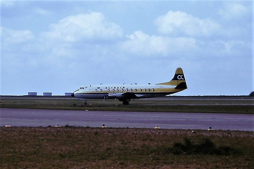 G-AZNH V Viscount Alidair EMA 27-05-1975