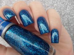 Mohda - Celeste + Impala - Azul Cristalino (Barbara Nichols (Babi)) Tags: mohda celeste azul azulcristalino glitter glitterazul blue bluenailpolish bluenails impala