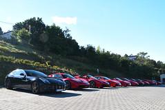 Ferrari Owners' Club Hungary meeting (MarcoT1) Tags: ferrari ff 458 speciale 488 spider f430 360 modena mondial t 430 scuderia testarossa hungary budapest nikon d5600