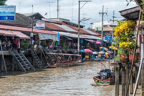 marché flottant amphawa - thailande 24
