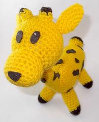 Amigurumi (El Gato sobre el Tejado) Tags: crochet amigurumi peluches plush manualidades crafts hechoamano handmade jirafa giraffe