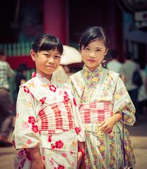 Asakusa Girls (Stuck in Customs) Tags: japan stuckincustomscom tokyo treyratcliff asakusa stuckincustoms traditional portrait street photography x1d hasselblad