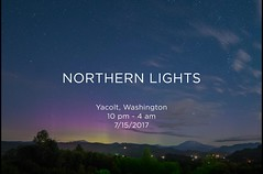 Northern Lights @ Mt. St. Helens (trismi) Tags: northernlights aurora nightsky stars night sky washingtonstate pnw photography timelapse mtsthelens