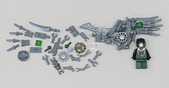 Vulture Exploded Parts (Grantmasters) Tags: vulture lego moc spiderman