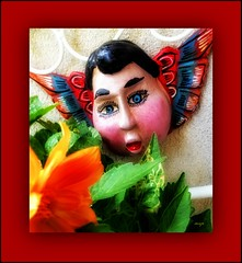 Angelito del Viento (Marcia Portess-Thanks for a million+ views.) Tags: angelitodelviento marciaportess map angelito angel artesaniamexicana mexico mexicanfolkart folkart angelsoplando