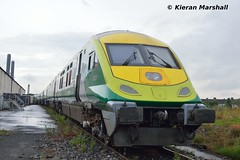 4002 at Inchicore, 19/7/17 (hurricanemk1c) Tags: railways railway train trains irish rail irishrail iarnród éireann iarnródéireann dublin inchicore 2017 caf mark4 intercity 4002