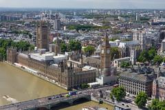 Palace of Westminster (Craig Dyni) Tags: bigben londoneye westminsterbridge england london palaceofwestminster vacation elizabethtower uk unitedkingdom ferriswheel