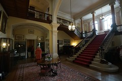 Grand staircase, Arlington Court (jozioau) Tags: staircase grand neoclassical nationaltrust uk arlingtoncourt devon variosonnart281635 mansion