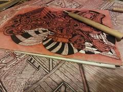 Current workings. #instaart #instaartist #draw #ink #figure #face #bizarre #beautiful #scribble #color #sketch #drawing #underpainting #painting #mixedmedia #contemporaryart #modern #artofvisuals #art #arte #artoftheday  #hopeful #paint #contemporaryart # (alexhipkins1) Tags: underpainting beautiful face figure ink sketch bizarre arte artoftheday paint painting modern instaart hopeful instaartist drawing scribble art color abstract artofvisuals contemporaryart miami mixedmedia draw