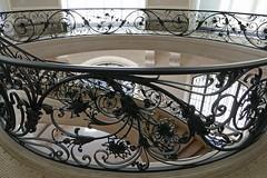 Elegant staircase ironwork - Petit Palais (Monceau) Tags: petitpalais museum paris elegant staircase ironwork