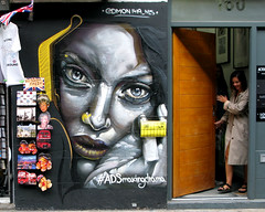 Street Art on Brick Lane (scats21) Tags: streetart shoreditch graffiti bricklane