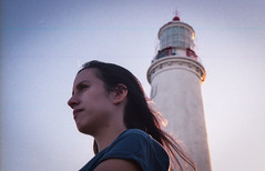 Belén y el Faro de Cabo de Santa María - La Paloma (UY) ([twitter - Instagram] @rodri555) Tags: analog film 35mm canon ftb fd kodakfilm kodal ultramax 400 uruguay sea mar lapaloma