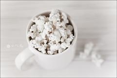 Proyecto 203/365 (Art.Mary) Tags: palomitas popcorn blanco blanc white canon proyecto365 bodegón stilllife naturemorte