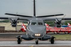 Let L-410UVP-E Turbolet (Manx John) Tags: sloveniaairforceletl410uvpeturboletregl401msn9 slovenia air force let l410uvpe turbolet reg l401 msn 912606 code 01 sal70400 riat2017