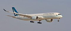 Cathay Pacific / Airbus A350-941 / B-LRF (vic_206) Tags: bcn lebl cathaypacific airbusa350941 blrf airplane avión