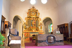 Schweiz - Zermatt, Pfarrkirche St. Mauritius (www.nbfotos.de) Tags: zermatt pfarrkirche stmauritius kirche church altar schweiz switzerland