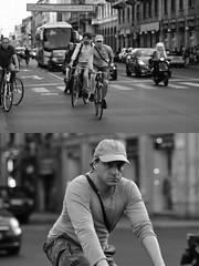 [La Mia Città][Pedala] (Urca) Tags: milano italia 2017 bicicletta pedalare ciclista ritrattostradale portrait dittico bike bicycle nikondigitale scéta biancoenero blackandwhite bn bw 102645