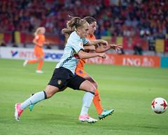 17240780 (roel.ubels) Tags: voetbal vrouwenvoetbal soccer europese kampioenschappen european championships sport topsport 2017 tilburg uefa nederland holland oranje belgië belgium