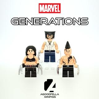MARVEL Generations 👶👨👴 Series 1 (The Wolverine) [MARVEL]