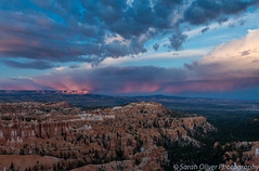 Sunset from the aptly named Sunset Point (SarahO44) Tags: sunset point bryce canyon national park utah usa united states america hoodoos rock formations clouds moody sky amphitheater pillars vista view landscape dusk nature weather canon 6d