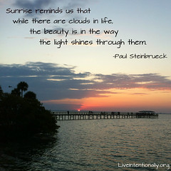 quote-liveintentionally-sunrise-reminds-us-that-while (pdstein007) Tags: quote inspiration inspirationalquote carpediem liveintentionally