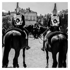 Love will never tear us apart (D.H.S Photography) Tags: ifttt 500px two man love history monochrome war military soldier ceremony cavalry pomp english squarephotography xt2