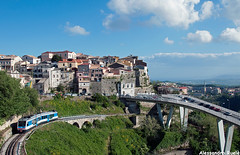 Stadler a Catanzaro (Alessandro Ruelé) Tags: stadler fcl ferroviedellacalabria catanzaro fc m4c500