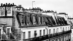Rooftops (Tony Scuvotti) Tags: paris france rooftops city marais architecture