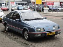 1983 Ford Sierra XR4i (harry_nl) Tags: netherlands nederland 2017 leiden ford sierra xr4i jy93dv sidecode4