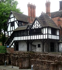 [52669] Coventry : Lychgate Cottages (Budby) Tags: coventry westmidlands timbered victorian