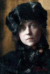 Alexandra Kollontai, 1922 | Коллонтай Александра Михайловна, заведующая женотделом ЦК РКП(б) (klimbims) Tags: коллонтай 1922