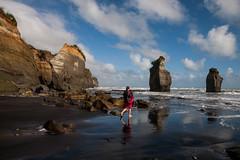 Three Sisters rocks, Taranaki, New Zealand (sandeepachetan.com) Tags: tongaporutu taranaki northisland newzealand