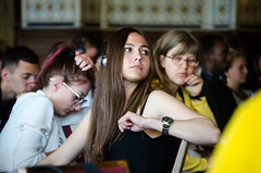 Participants at our morning plenary (CAUX-Initiatives of Change) Tags: aeub2017 mainhall polarization audience participants