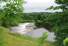 Weir on the North Tyne (Halliwell_Michael ## Thanks you for your visits #) Tags: northumberland nikond40x 2017 thegeorgechollerford chollerford northtyne trees reflection reflections weir river landscapes water