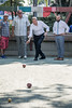 New York City Mayor Bill de Blasio visits William F. Moore Park in Corona to play Bocce ball with community members on Tuesday, July 18, 2017. (nycmayorsoffice) Tags: billdeblasio candid corona mayor bocce bocceball newyork newyorkcity newyorkcitymayorbilldeblasio newyorkpolicedepartment nypd park police queens sport sports