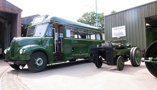 July 2017 - GS64 & 351X at East Anglia Transport Museum.