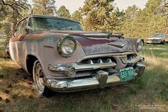 Dodge Lancer (dtredinnick13) Tags: car automobile automotive auto dodge lancer rust antique junker boneyard classic classiccar rusty rot colorado ramblerranch elizabethco hdr chrysler chrome nikon nikond800 nikon2470 gitzo nik nikhdrpro