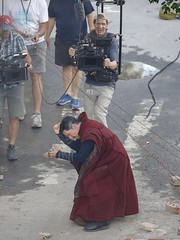 UHQ Avengers: Infinity War Set Pictures (anythingdoctorstrange) Tags: avengers infinity war atlanta usa 28 jun 2017 cast members benedict cumberbatch works during filming set is modeled after a new york city street celebrity entertainment arts georgia united states north america 60710699 benedictcumberbatch markruffalo avengersinfinitywar robert downey jr