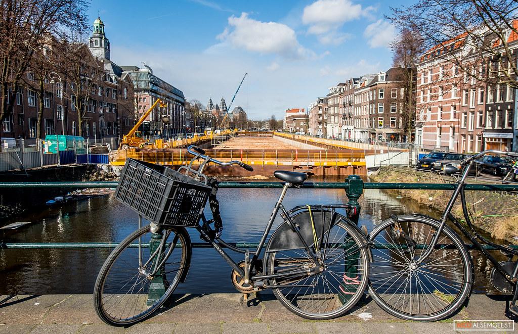Bouw Albert Cuypgarage Amsterdam