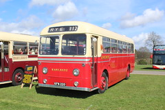Standard fare in the mid 1950s. (steve vallance coach and bus) Tags: kfn220 aecreliance weymann eastkent southeastbusfestival detling preserved