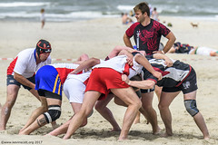 H6G64139 Ameland Invites v Baba Bandits (KevinScott.Org) Tags: kevinscottorg kevinscott rugby rc rfc beachrugby ameland abrf17 2017 vets veterans netherlands