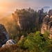 Bastei Sunrise by Alexander Lauterbach Photography