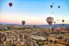Vôo de balão pelo Vale do Goreme/Capadócia/Turquia