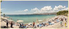 Panorama - Canon EOS 5D Mark III - Tamron SP 24-70mm f/2,8 Di VC USD (Beek2012) Tags: canon canoneos5dmarkiii tamronsp2470mmf28divcusd europe europa croatia split panorama seafront seaside sunshine sunny clouds summer