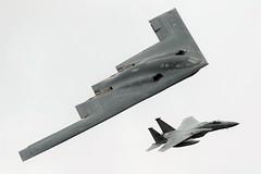 Spirit of Pennsylvania (Dafydd RJ Phillips) Tags: stealth grim ln015 spirit northrop grumman fairford f15c f15 squadron sqn 493 reaper lakenheath usa usaf bomber b2 riat 2017 whiteman base force air