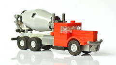 Small Lego Concrete Mixer Truck - Updated Version (MOC - 4K) (hajdekr) Tags: concretemixertruck concrete beton mixer moc myowncreation lego legobuildingblocks buildingblocks tip inspiration cementmixer legotechnic cement car vehicle automobile truck transport transporttruck concretemixer revolvingdrum constructionmachine threestuds small easy simple simply forkids decoration update updated updatedversion