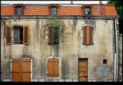 170623-2510-XM1.jpg (hopeless128) Tags: france 2017 eurotrip building tree windows shutters ruffec nouvelleaquitaine fr