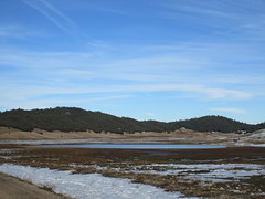 Pond in snow fields, Middle Atlas near Azrou, Morocco (Paul McClure DC) Tags: middleatlas morocco jan2017 almaghrib ifrane azrou mountains winter scenery snow northafrica