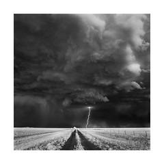 Lightning Strike III (Sandra Herber) Tags: infrared oklahoma stormchasing lightning